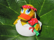 Bride Latex Rubber Duck From Lanco Ducks