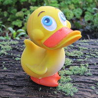 Happy Latex Rubber Duck From Lanco Ducks