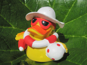 Beach Latex Rubber Duck From Lanco Ducks