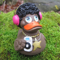 DJ Disco Latex Rubber Duck From Lanco Ducks