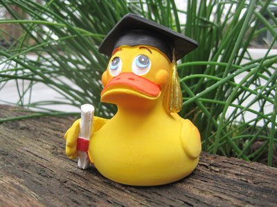 Graduation Latex Rubber Duck From Lanco Ducks