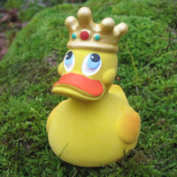 King Latex Rubber Duck From Lanco Ducks