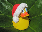 Santa Claus Latex Rubber Duck From Lanco Ducks