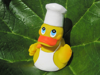 Chef Latex Rubber Duck From Lanco Ducks