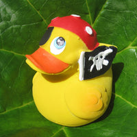 Pirate Latex Rubber Duck From Lanco Ducks
