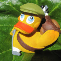 Golf Latex Rubber Duck From Lanco Ducks