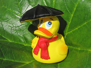 Rainy Day Latex Rubber Duck From Lanco Ducks