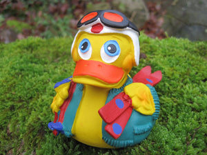 Ski Latex Rubber Duck From Lanco Ducks