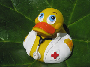 Doctor Latex Rubber Duck From Lanco Ducks