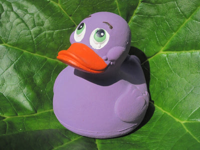 Lilac Latex Rubber Duck From Lanco Ducks