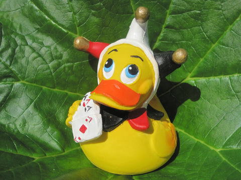 Joker Latex Rubber Duck From Lanco Ducks