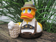 Oktoberfest Latex Rubber Duck - Bavarian Boy From Lanco Ducks
