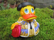 Bull Fighter Latex Rubber Duck From Lanco Ducks