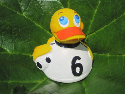 Football Latex Rubber Duck From Lanco Ducks