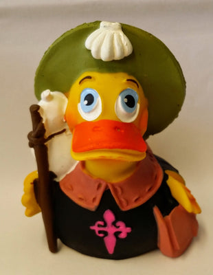 Santiago Pilgrim Latex Rubber Duck From Lanco Ducks