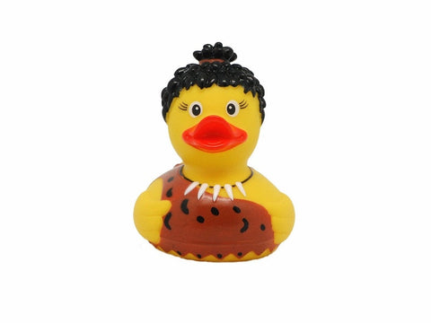 Neanderthal rubber duck
