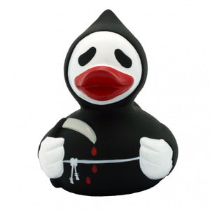 Grim Reaper Scream rubber duck (Halloween)
