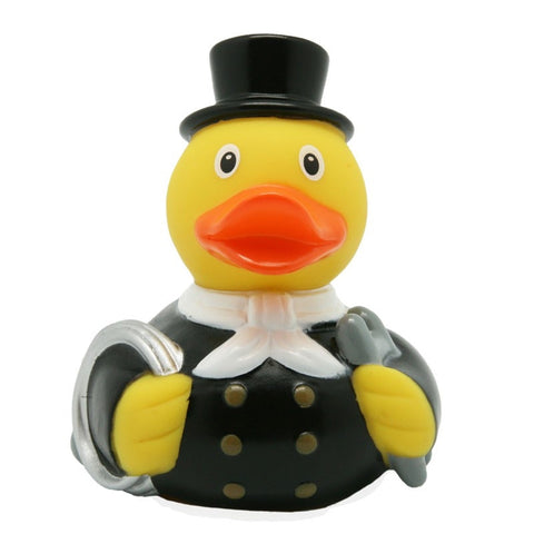 Chimney Sweep rubber duck with white neckerchief