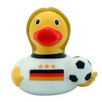 Footballer rubber duck