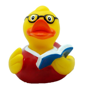 Book rubber duck