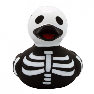 Skeleton rubber duck (Halloween)