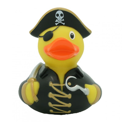 Pirate rubber duck with hook