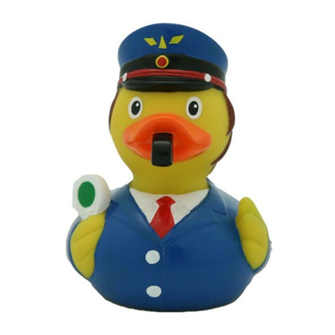Train/railway conductor rubber duck