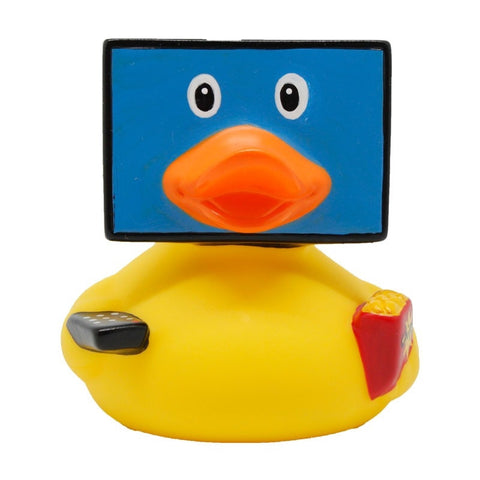 TV rubber duck