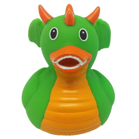 Dragon rubber duck green