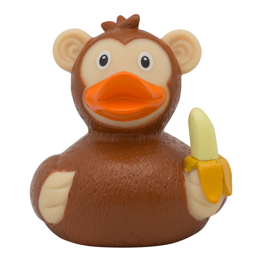 Monkey Rubber Duck By Lilalu | Shop4Ducks