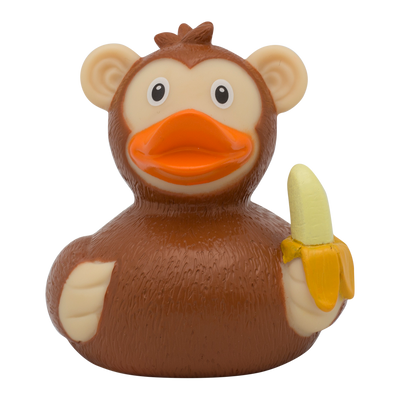 Monkey Rubber Duck By Lilalu