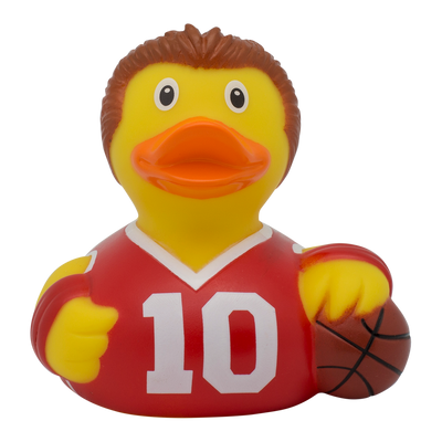 Basketball Player Rubber Duck By Lilalu
