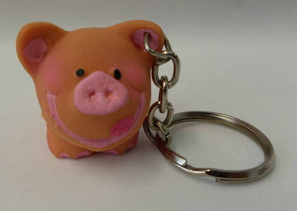 Mini Pig Keyring From Lanco Ducks