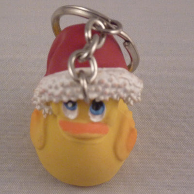 Mini Santa Keyring From Lanco Ducks
