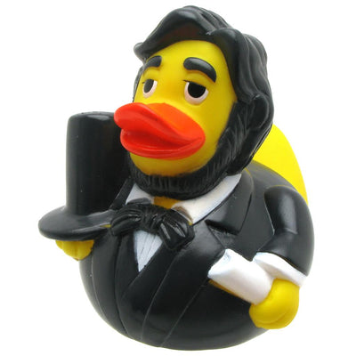 Abraham Lincoln Rubber Duck From Yarto