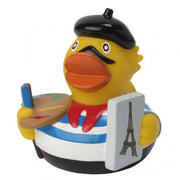 Paris French  Rubber Duck By MBW City Duck