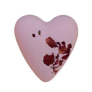 Mega Fizz Bath Hearts - Rose