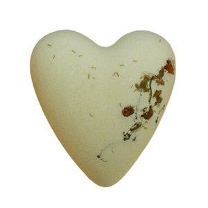 Mega Fizz Bath Hearts - Chamomile & Honey