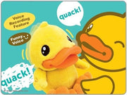 B.Duck Talking Plush
