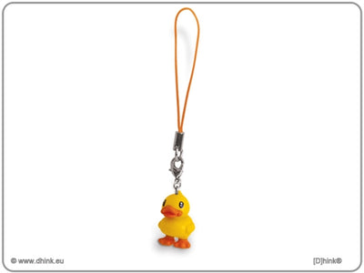 B.Duck Yellow Mobile Strap