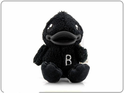 B.Duck Black Plush Keyring