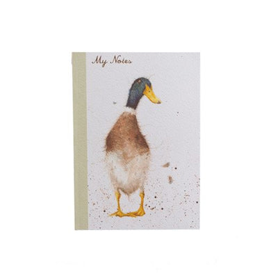 A6 Duck Notebook - Wrendale Designs