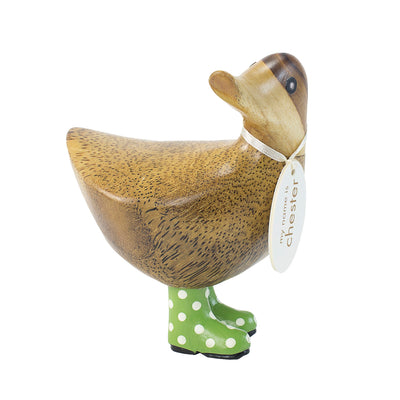 DCUK Spotty Boots Ducky - Green