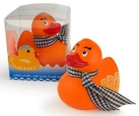 Duck a L'Orange Rubber Duck By Opal