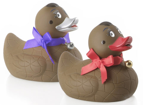 Nest and Lay Chocolate Rubber Duck  By Opal
