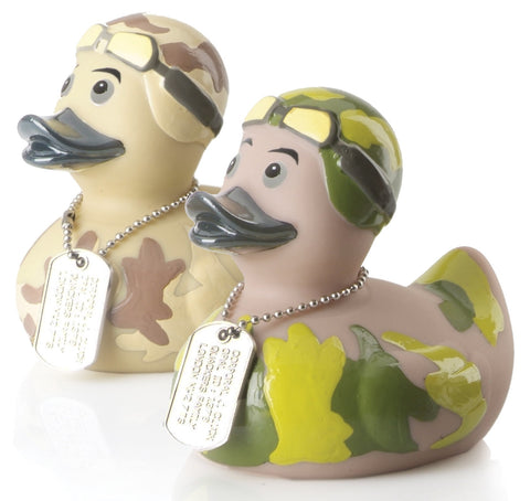 Corporal Cluck Rubber Duck 2012 By Opal
