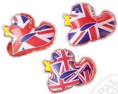 Cookie Jar Collection - Union Jack Duck Bath Gel set of 3 By Opal