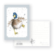 A Waddle and A Quack -  Postcard - Wrendale Designs