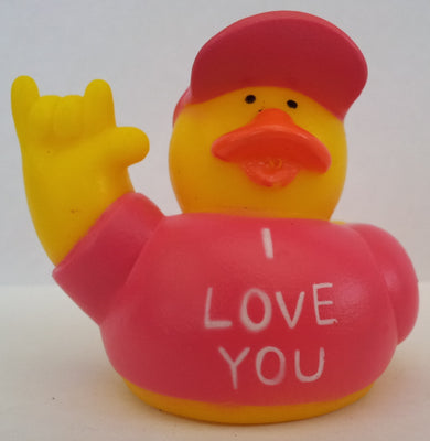 I Love You Duck