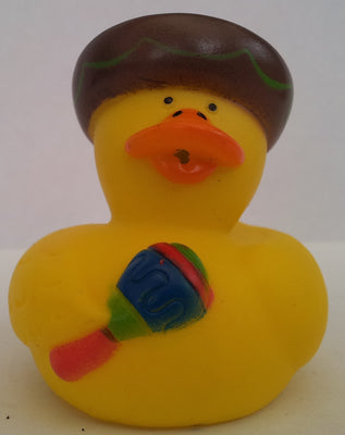 Mexican Duck Maracas by Rubber Duckies